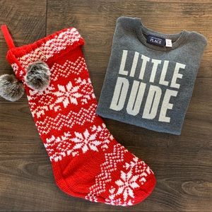 The Children's Place LITTLE DUDE gray sweater 4T